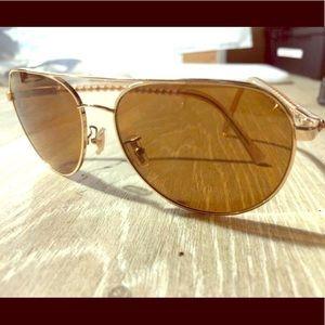 COACH Brown Designer Sunglasses
